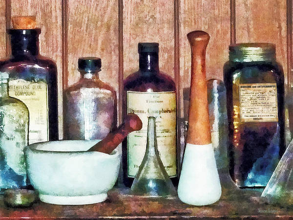 Photograph - Mortar And Pestle And Pestle by Susan Savad