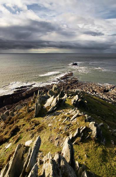 Photograph - Morte Point In North Devon by Pete Hemington