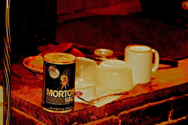 Digital Art - Morton Salt Born 1952 by Joseph Coulombe