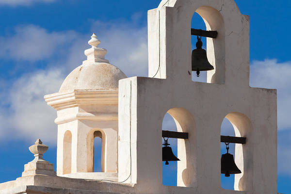 Photograph - Mortuary Bells At San Xavier by Ed Gleichman