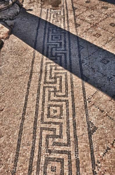 Photograph - Mosaic 1 Beit Sha'en Israel by Mark Fuller