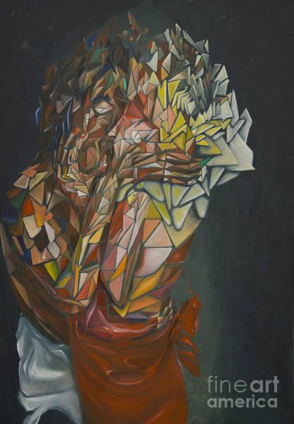 Mosaic Embrace Art Print