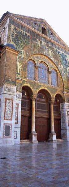 Damascus Photograph - Mosaic Facade Of A Mosque, Umayyad by Panoramic Images