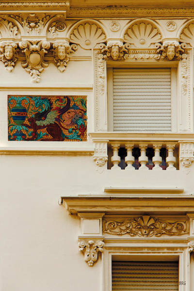 Photograph - Mosaic In Nice France by Ben and Raisa Gertsberg