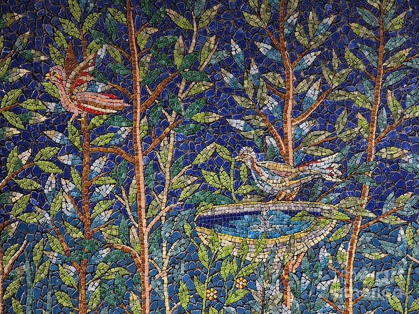 Photograph - Mosaic In Sorrento by Brenda Kean