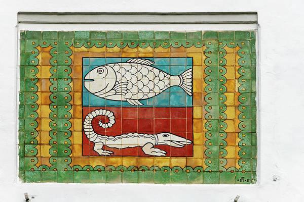 Jakarta Photograph - Mosaic Painting, Jakarta, Indonesia by Keren Su