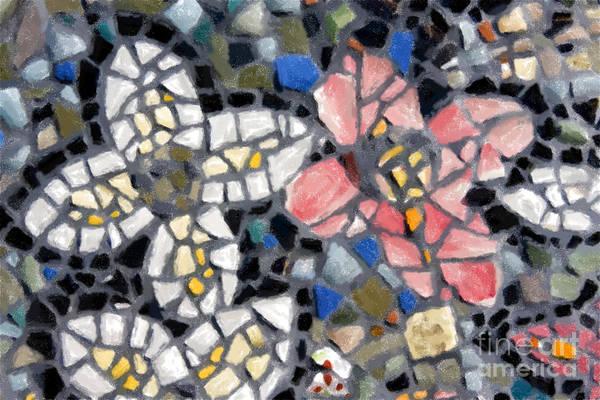 Digital Art - Mosaic Tiles by Jill Lang