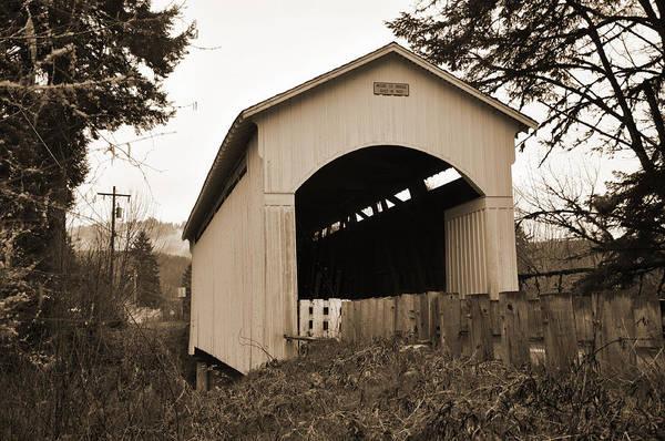 Digital Art - Mosby Creek Bridge by Kirt Tisdale
