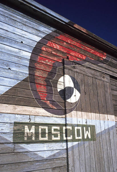 Wall Art - Photograph - Moscow Storage Barn by Latah Trail Foundation
