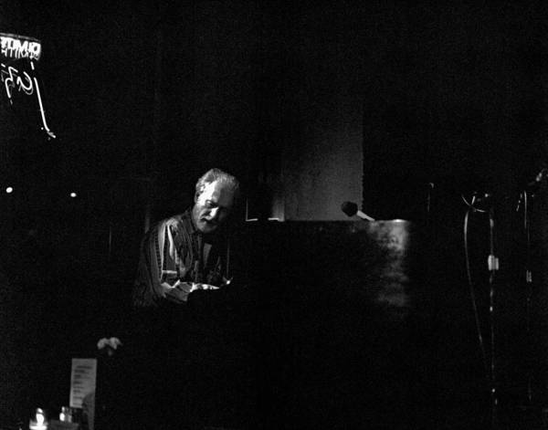 Photograph - Mose Allison 2 by Lee Santa