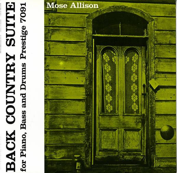 Wall Art - Digital Art - Mose Allison - Back Country Suite by Concord Music Group