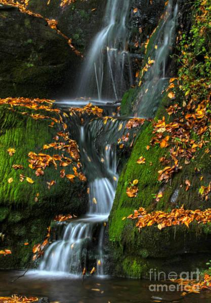 Photograph - Round Pond Falls by Deborah Benoit