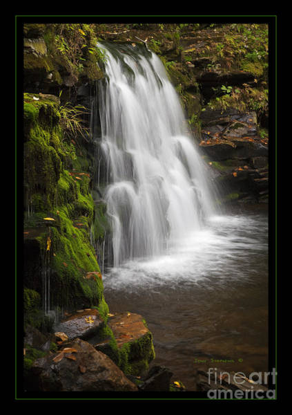Sullivan County Photograph - Mossy Wilderness Waterfall Cascade by John Stephens