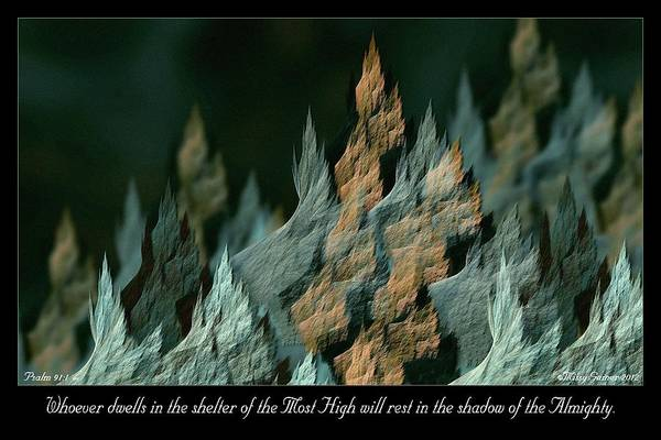 Digital Art - Most High by Missy Gainer