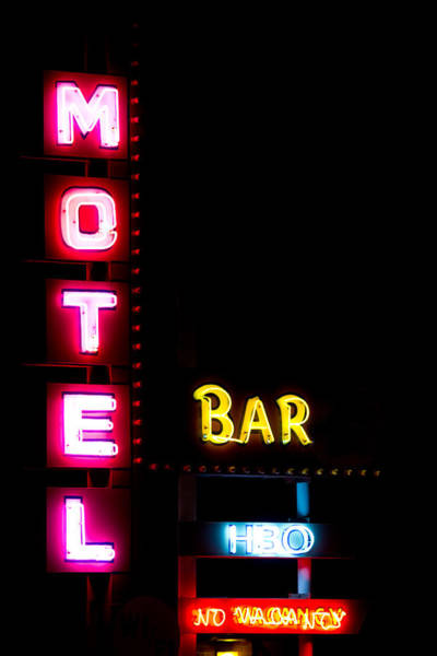 Photograph - Motel Bar Hbo No Vacancy by James BO Insogna