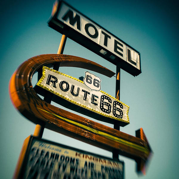 Historic Route 66 Photograph - Motel by Dave Bowman