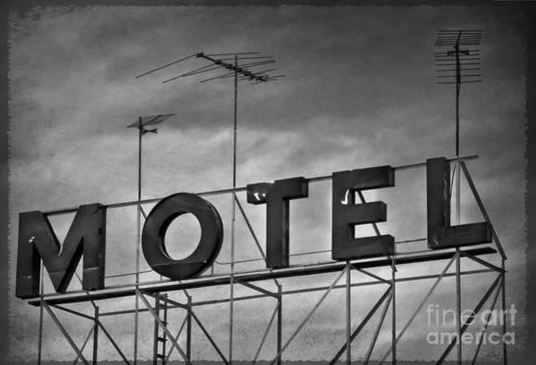 Photograph - Motel by Debra Fedchin