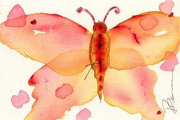 Painting - Moth #1 by Dawn Derman