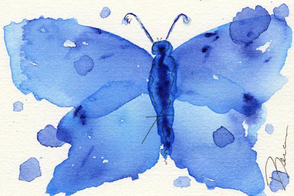 Painting - Moth #2 by Dawn Derman