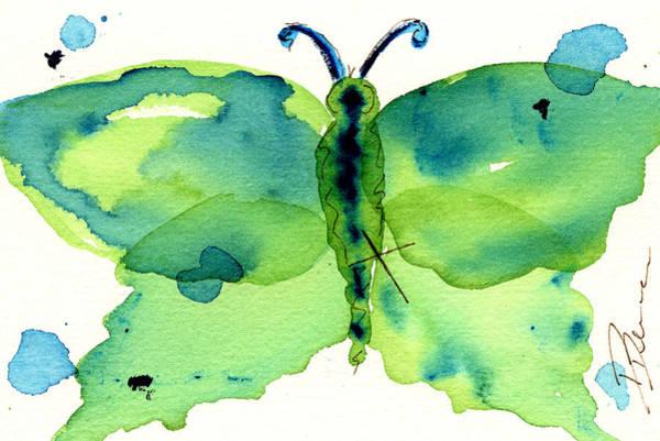 Painting - Moth #3 by Dawn Derman