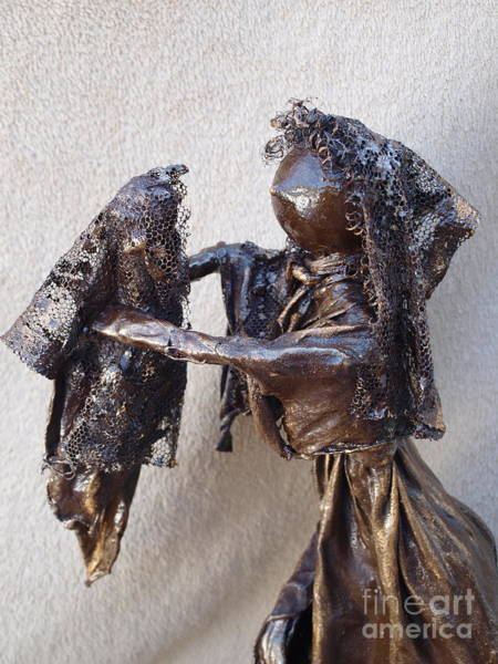 Sculpture - Mother And Baby - 2nd Photo by Vivian Martin