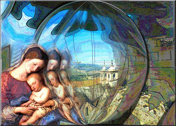 Digital Art - Mother And Child 2 2009 by Glenn Bautista