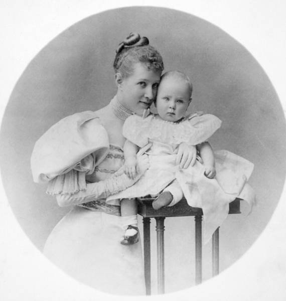 Photograph - Mother And Child, C1905 by Granger