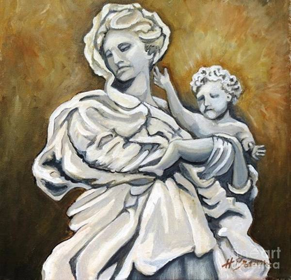 Holly Brannan Wall Art - Painting - Mother And Child by Holly Bartlett Brannan