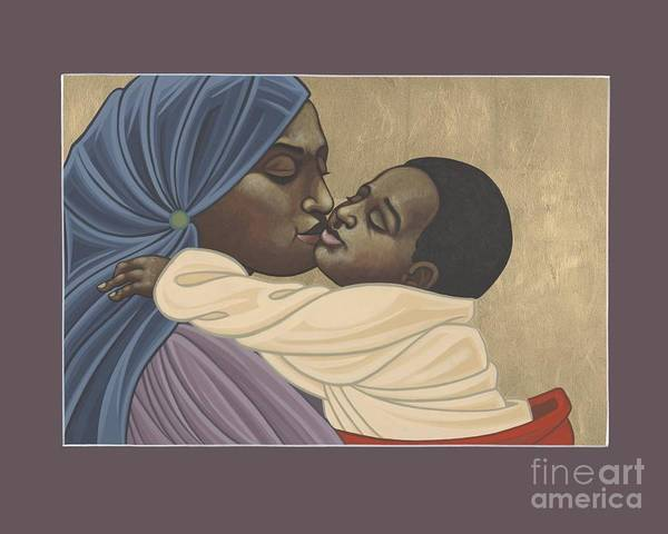 Mother And Child Of Kibeho 211 Art Print