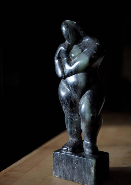 Photograph - Mother And Child Sculpture by Rona Black