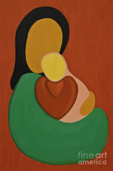 Painting - Mother And Daughter by James Lavott