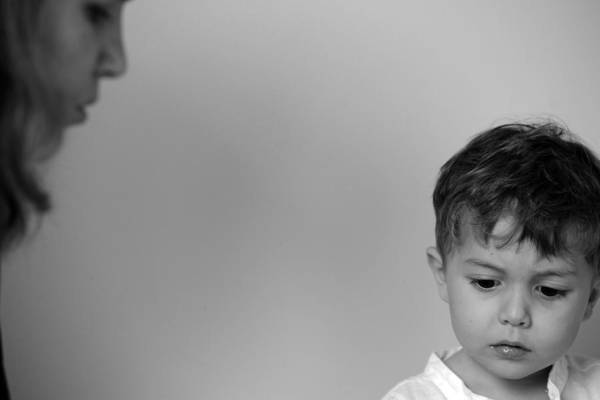Wall Art - Photograph - Mother And Son by Jessica Rose
