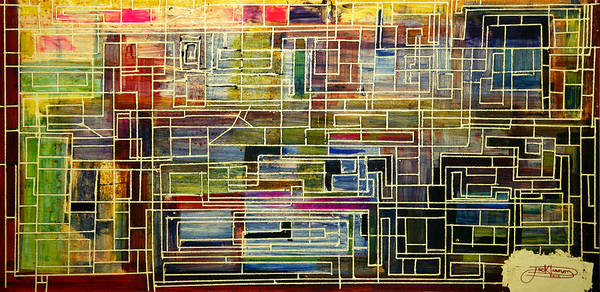 Painting - Mother Board by Jack Diamond
