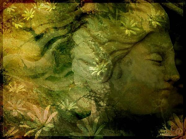 Mother Earth Digital Art - Mother Earth Is Just Awakening by Gun Legler