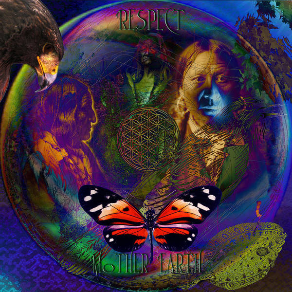 Respect Digital Art - Mother Earth by Joseph Mosley