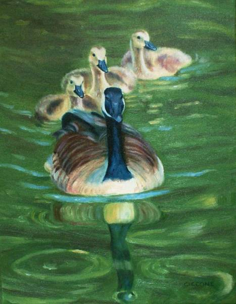 Painting - Mother Goose  by Jill Ciccone Pike