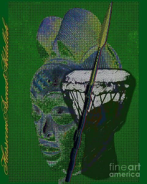Djembe Wall Art - Digital Art - Mother Healer Warrior by Hasseem Abdallah