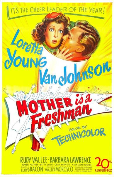 Van Johnson Photograph - Mother Is A Freshman, Us Poster by Everett