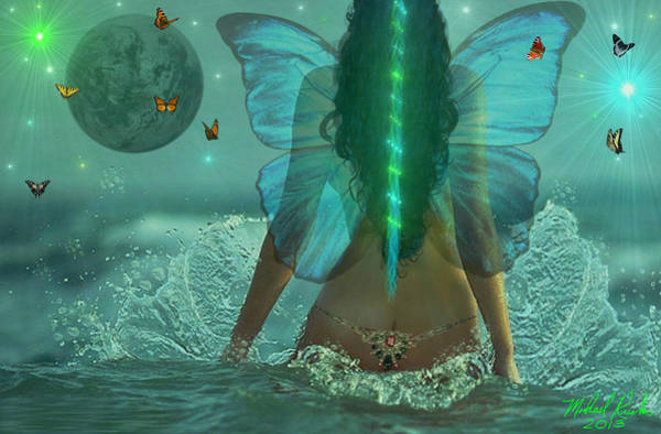 Ocean Wall Art - Digital Art - Mother Nature by Michael Rucker