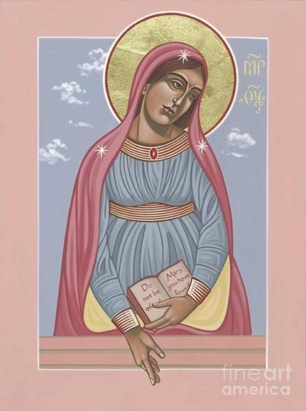 Painting - Mother Of Holy Hope 263 by William Hart McNichols