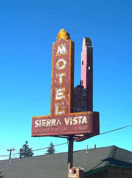 Photograph - Mother Road Motel by Joshua House