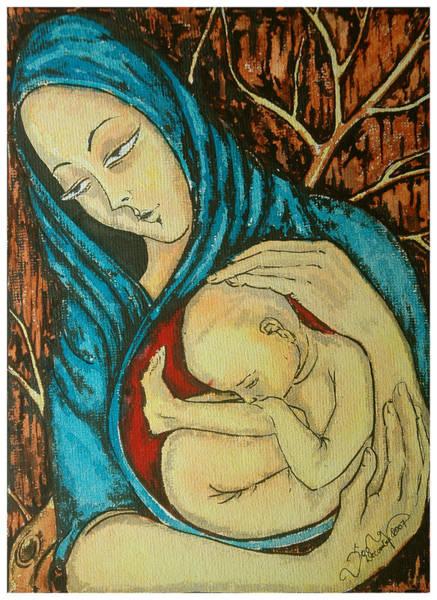 Kannan Painting - Mother by Sooraj Kannan