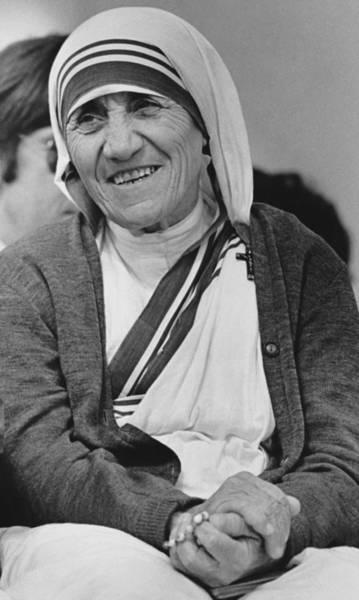 Wall Art - Photograph - Mother Teresa, Catholic Saint by Ulrike Welsch