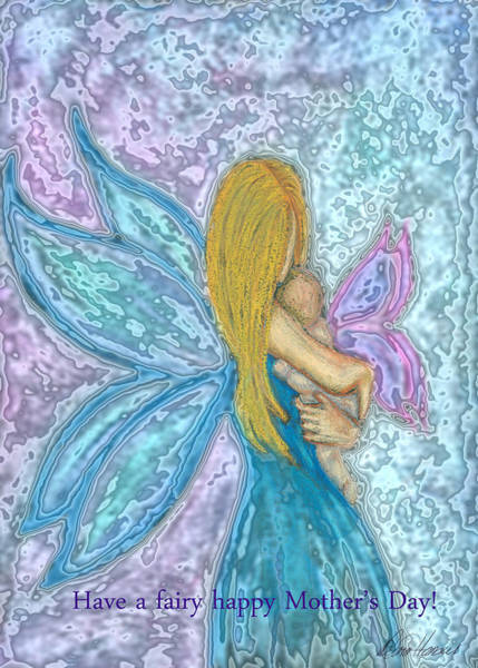 Photograph - Mother's Day Fairy by Diana Haronis