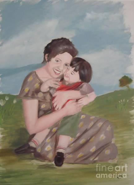Mother's Love Art Print by Angela Melendez