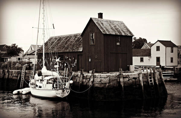 Wall Art - Photograph - Motif Number 1 - Rockport by Stephen Stookey
