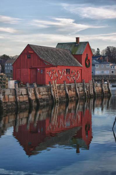 Photograph - Motifs Long Reflection by Jeff Folger
