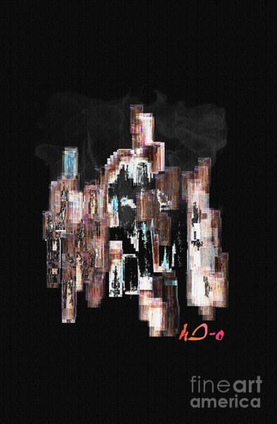 Exhaust Digital Art - Motionless Restlessness by Ha Imako