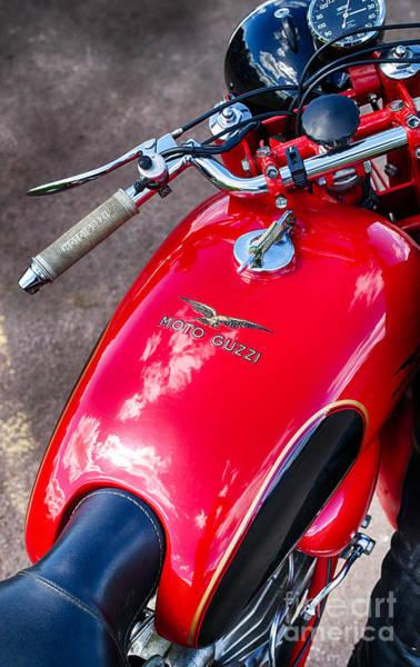 Photograph - Moto Guzzi Falcone by Tim Gainey