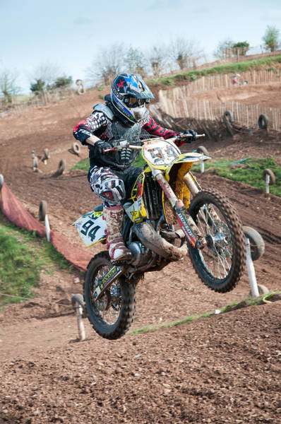 Dirtbike Photograph - Motocross Leap by Roy Pedersen